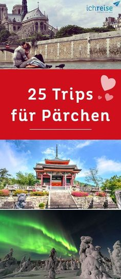 25 trips every couple should have made in life - These are the best vacations for lovers. Be excited 🙂 travel vacation # vacation for couples - Europe Destinations, Europe Travel Tips, Honeymoon Destinations, Holiday Destinations, Travel Info, Honeymoon Night, Honeymoon Cruise, Honeymoon Tips, Cool Places To Visit