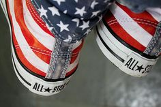 American sneakers!