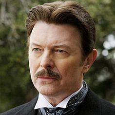 David Bowie as Nikolai Telsa in The Prestige.  Great movie.