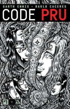 Code Pru #1 (Pure Art Cover) #AvatarPress #CodePru (Cover Artist: Raulo Caceres) Release Date: 1/20/2016