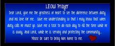 LEOW Prayer