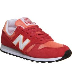 NEW BALANCE - 373 suede and mesh trainers   Selfridges.com