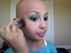 Meet Talia. She's 12 and she's a  natural make up artist. She also has cancer which makes her a complete boss. Watch her make up tutorials.