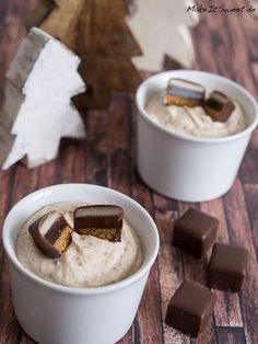Dominosteine Dessert Nachtisch Nachspeise Weihnachten Creme - einfach und schnell - Rezept