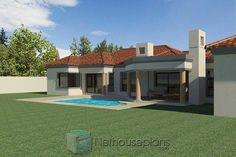 3 Bedroom House Plans South Africa | House Designs | NethouseplansNethouseplans House Plans For Sale, Free House Plans, House Plans With Photos, Garage House Plans, Small House Plans, Three Bedroom House Plan, Bedroom House Plans, Tuscan House Plans, Double Storey House Plans