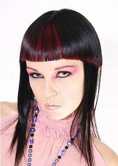 Romantic Goth Girl Hairstyles