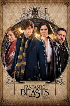 Fantastic Beasts - Group Poster Poster Print - Item # VARXPE160544 - Posterazzi