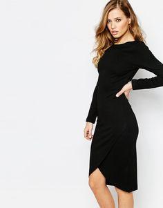 Supertrash | Supertrash Dhinker Body-Conscious Midi Dress at ASOS