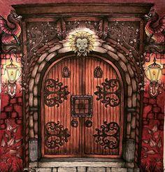 #johannabasford #enchantedforest #enchantedforestcoloringbook #secretgarden…