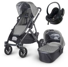 http://www.namebrandbabyclothes.com/category/uppababy/ This UPPAbaby Vista 2015 (Pascal - silver) package comes complete with a BeSafe iZi Go car seat: everything you need to get fully mobile with your baby! | £779 from www.moosterbaby.co.uk | #travelsystem #baby #grey