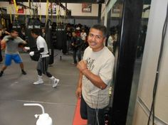 Nonito Donaire, Jr's Public Workout For Oct. 13th Fight...Coach Robert Garcia