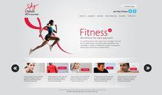 fitness website designs