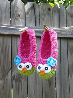 Owl slippers - cute