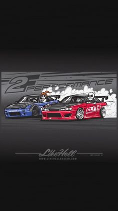 Tuner Cars, Jdm Cars, Jdm Wallpaper, Mobile Legend Wallpaper, Drifting Cars, Car Illustration, Japan Cars, Car Posters, Car Drawings