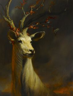 Martin Wittfooth (born 1981) - Warden, oil on linen, 2012 | Private collection