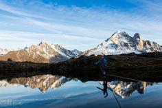 Lac de Chesery-Chamonix Photo : Estelle Peretto