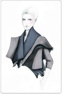 sketch fashion grey Photos of arena page (Via: showtime.arts.ac.uk, fashioningtech)