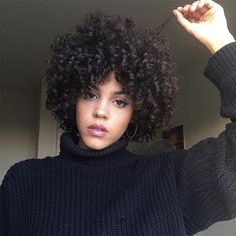 How to Prepare for a Short Curly Haircut, According to a Stylist is part of Curly hair cuts - If you have curly hair and are thinking of getting a short haircut, take a look at these three steps to you can take to prepare Curly Hair Styles, Curly Hair With Bangs, Curly Hair Cuts, Long Curly Hair, Short Hair Cuts, Natural Hair Styles, Short Curls, Short Curly Afro, Big Hair