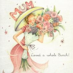 Mum Loved A Whole Bunch Birthday Card - £2.95 FREE UK Delivery! Make Your Purchase : http://www.pippins.co.uk/mum-loved-a-whole-bunch-birthday-card.html