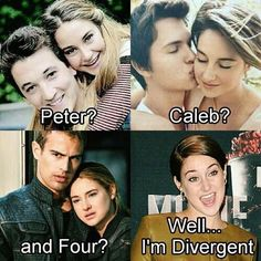 the fault in our stars and divergent meme - Google Search