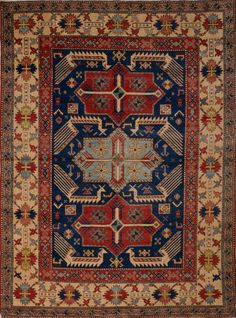 Matt Camron Rugs & Tapestries Antique Caucasion Rug