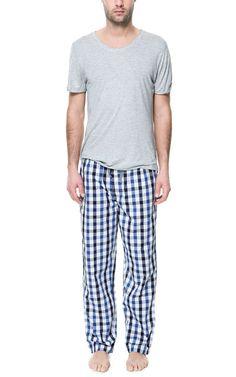 Zara - CHECKED PAJAMA BOTTOMS Men's Pajamas, Summer Pajamas, Girls Pajamas, Pajama Bottoms, Pajama Pants, Sleep Men, Female Outfits, Physical Therapist, Male Feet