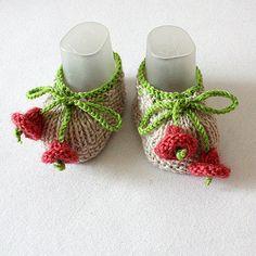 Knitting Pattern PDF file Small Bells Baby by loasidellamaglia, $3.99