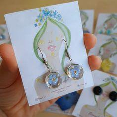 Diy Resin Earrings, Resin Jewelry Tutorial, Diy Earrings Easy, Resin Necklace, Washer Necklace, Diy Jewelry, Beaded Jewelry, Handmade Jewelry, Jewelry Making