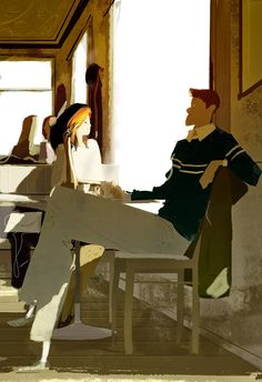 pascal campion: That winter feel. #pascalcampionart _You know what I love about winter?