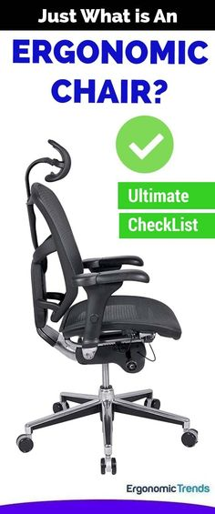 Given that sitting takes up such a significant portion of our lives, it's important that the chair you're sitting on is ergonomic. But just what is an ergonomic office chair? Our in-house ergonomist breaks down all the important things to check off when buying an ergonomic chair. There's more to meet the eyes.  #ergonomicchairs #ergonomics #officechairs #bestofficechairs