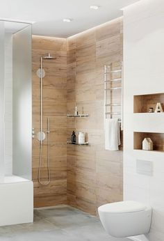 Design Sort Hvid 2019 201 Badeværelse Design Sort Hvid 2019 201 Badeværelse Design Sort Hvid 2019 50 Stunning Small Bathroom Makeover Ideas 49 Clever Small Bathroom Decorating Ideas Combine stone and wood effect tiles in the bathroom - - Bathroom Design Luxury, Simple Bathroom, Modern Bathroom Design, Bathroom Ideas, Latest Bathroom Designs, Bathroom Inspiration, Home, Wooden Bathroom, Washroom