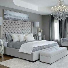Luxury Bedroom Design, Master Bedroom Interior, Bedroom Furniture Design, Room Ideas Bedroom, Master Bedroom Design, Home Decor Bedroom, Cozy Bedroom, Adult Bedroom Ideas, Interior Design