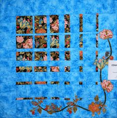 Only two fabrics? Lap Quilts, Panel Quilts, Scrappy Quilts, Mini Quilts, Quilt Block Patterns, Quilt Blocks, Quilting Projects, Quilting Designs, Optical Illusion Quilts