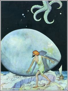 Arabian Nights ~ Penn Publishing ~ 1928.  Ills. by Virginia Sterrett.  Brilliant