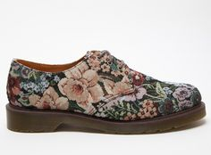 Dr. Martens floral print men's shoes