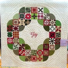 Twelve days of Christmas Quilts: Christmas Jane | Quilt Inspiration | Bloglovin'