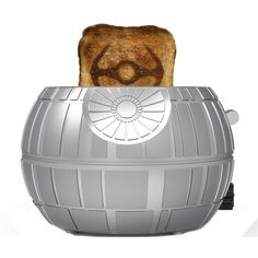 Uncanny Brands Star Wars Death Star Toaster- Toasts Iconic Tie Fighter onto Your Toast Star Wars Shop, Star Wars Art, Cocina Star Wars, Regalos Star Wars, Darth Vader Toaster, Star Wars Kitchen, Stainless Steel Toaster, Star Wars Merchandise, Toaster