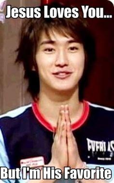 Siwon from Super Junior. - bigbang comedy mblaq shinee cute funny macros - Asianfanfics