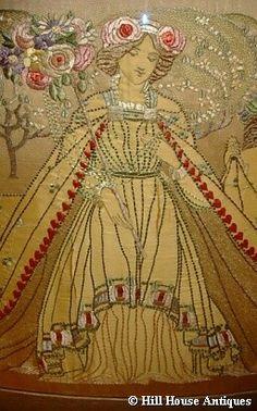 Ann Macbeth, embroidery