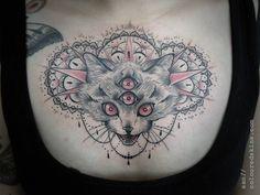 Cat tattoo - San