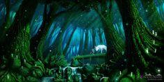 Princess Mononoke on Studio-Ghibli - DeviantArt Totoro, Sac Tods, Princess Mononoke Wallpaper, Mononoke Forest, Le Vent Se Leve, The Cat Returns, Wolf, Howls Moving Castle, Animation