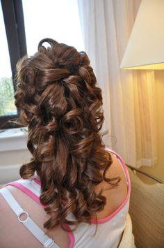 Bride hair idea
