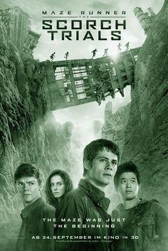 THE MAZE RUNNER 2: THE SCORCH TRIALS is een Amerikaanse sciencefictionfilm uit 2015 onder regie van Wes Ball. De film is gebaseerd op het gelijknamige boek uit 2009 van James Dashner met in de hoofdrollen: Dylan O'Brien, Kaya Scodelario en Thomas Sangster.