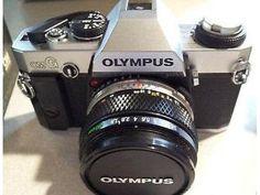 Olympus 35mm film camera, and accessories