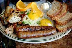The best breakfast-for-dinner. Breakfast Plate, Breakfast For Dinner, Breakfast Time, Best Breakfast, Hangover Breakfast, German Breakfast, Country Breakfast, American Breakfast, I Love Food