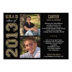 Graduation Party Invitation | Class of 2013