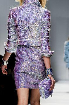 sparkle. blumarine f/w 2012