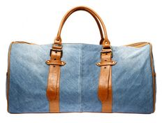 Recycled-Denim Bag by Miranda Chance