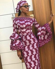 Tech Install: 25 Beautiful Ankara Styles Just For You African Fashion Ankara, Latest African Fashion Dresses, African Dresses For Women, African Print Fashion, Africa Fashion, African Attire, African Prints, African Style, African Fabric