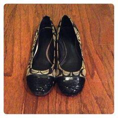 "Spotted while shopping on Poshmark: ""Coach ballet flats""! #poshmark #fashion #shopping #style #Coach #Shoes"